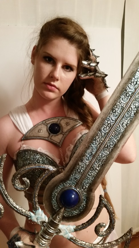 Kostum boginje Nemesis/Costume of the Goddess Nemesis