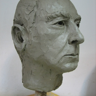 Študija glave/Study of a Head