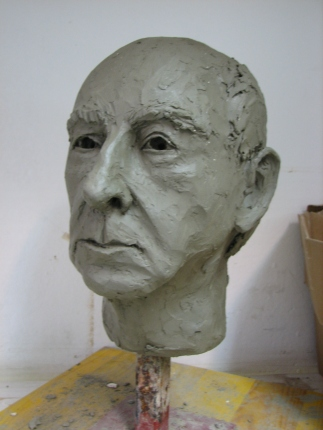 Študija glave/Study of a Head