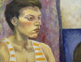 Študija portreta/Study of a Portrait